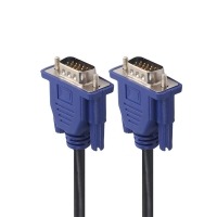 China Nickel Plated Double Ferrite Cores 30V 15 Pin VGA Computer Connection Cable on sale