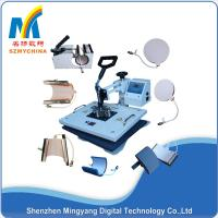 Quality 1250 W White 8 In1 Combo Heat Press Machine For T Shirt Printing / Mug Sublimation for sale