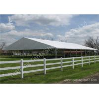 Quality Grassland Set up Aluminum Framed clearspan fabric structures Outdoor for sale