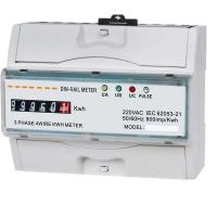 Quality Three Phase Power Quality Monitoring Equipment KWH Meter With LCD Display for sale