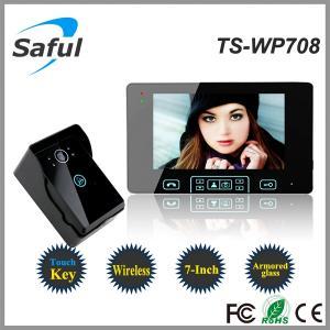 China the electronic lock intercom wireless outdoor door peephole camera on sale