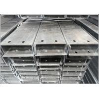 Building Steel StructureC Section Metal with Hot Rolled Craft Galvanized Surface for sale
