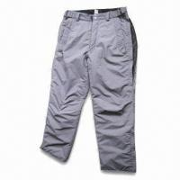 Quality Ski Pants with Polyester Lining and Padding for sale