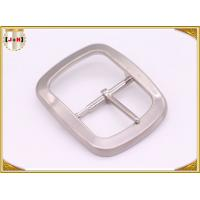 Buy cheap Custom Silver Plated Pin Belt Buckle / Mens Fashion Belt Buckles from wholesalers