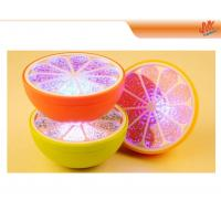 Quality Waterproof portable ABS 3 LEDs orange decorative light, Mini desk Led Night Lamp for sale