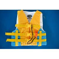 Buy cheap PVC Foam Material Life Vest / Kids Life Jacket For Water Sport Games from wholesalers