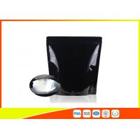 Quality Custom Printed Coffee Bags Black Tea Zipper Resealable Stand Up Pouches for sale