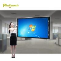 """Quality China cheap 84"""" 4K high resolution   school teach large multi infrared  55 inch lcd touch for sale"""