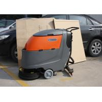 Buy cheap Adjustable Non Maintenance Walk Behind Floor Scrubber 1250X660X1150MM from wholesalers