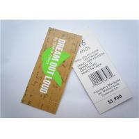 Quality Recyclable Clothing Label Tags Jeans Paper Hang Tag Garment Accessory for sale