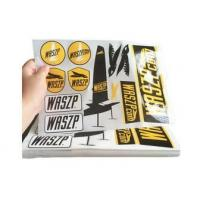 Quality Custom Logo Self Adhesive Vinyl Labels / Warning Stickers Eco Friendly for sale