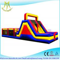 Quality Hansel inflatable bouncer adult inflatable obstacle course for sale for sale