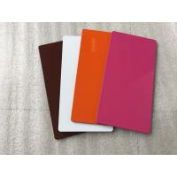 Buy Various Colors ACP Aluminium Sheet High Intensity With Weather Resistance  at wholesale prices