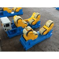 Quality 20 Ton Cylinder Self Aligned Welding Rotator 200m Control Wireless Remote Box for sale