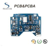 Quality Blue soldermask pcb assembly pcba for heat pump controller board for sale