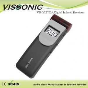 China Infrared Receiver Wireless Interpretation System , Interpreter Equipment Portable on sale