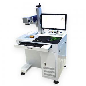 Quality high speed aman 20w desktop Fiber Laser Marking Machine laser marker for sale for sale