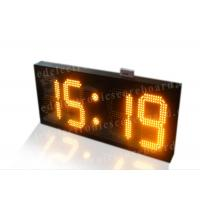 Quality Amber Color Electronic Countdown Timer , Outdoor Type Countdown Led Clock for sale