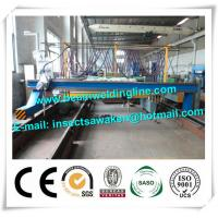 Quality Multiple Strip H Beam CNC Plasma Cutting Machine 4000mm Cutting Width for sale
