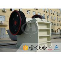 Quality AC Motor Jaw Crusher Equipment PE-400×600 For Steel Mills , Power Plants for sale
