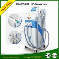 Quality Super Quality Unique SHR IPL+Yag Laser+Fractional RF 4 in1 best beauty equipment for sale