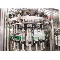 China Carbonated Aerated Water Glass Bottle Filling Machine For Carbonated Drink Production Line on sale