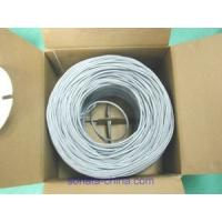 China FLUKE passed  Network Cable UTP Cat 5e (Solid) 4x2x24 AWG on sale