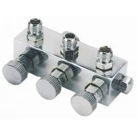 Quality Anti Rust Airbrush Spare Parts 3 Port Manifold Valves Regulator A9-3 for sale