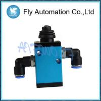Buy cheap Aluminum Dump Truck Valve HXQF-24C HYVA / Blue Hydraulic Control Limit Valve from wholesalers