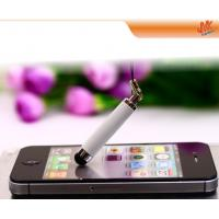 Quality mini Soft Plastic or metal Capacitive Screen Stylus Pen  for ipod touch, itouch stylus pen for sale
