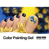 Quality Strong Adhesion Uv Gel Paint For Nails Remove Easily Environment - Friendly for sale