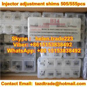 Quality CR Injector Adjustment Shims ,Adjust Shim for BOSCH Injector 555 pcs / 505 pcs ,adjusting for sale