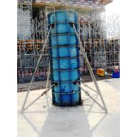 Buy High Stiffness System Column Formwork For Pouring Circular Column at wholesale prices