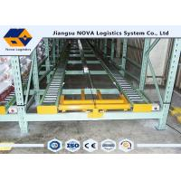 Adjustable Selective Live Pallet Storage , Long Span Shelving For Temporary Storage