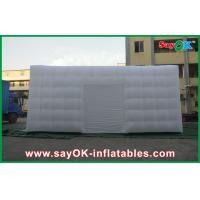 Quality Customized Big White Go Outdoors Inflatable Tent Cuve With Door for sale