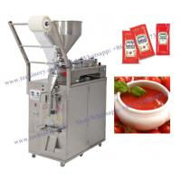 China Liquid Vertical Form Fill Seal Packing Machine Vffs Water Honey Shampoo Milk Oil Ketchup Sauce Sache on sale