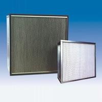 China 120 Pa Initial resistance, 125% Deep Pleated HEPA Filter for Industrial HVAC System on sale