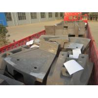Quality Large AG Mill Castings Sag Mill Liners For Mine Mills HRC33-43 for sale