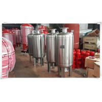 Quality Thermal Expansion Diaphragm Pressure Tank , Fire Sprinkler Water Storage Tanks for sale