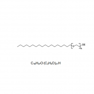 China STEARETH 21 C18 Fatty Alcohol Ethoxylate Polyethylene Glycol Octadecyl Ether on sale