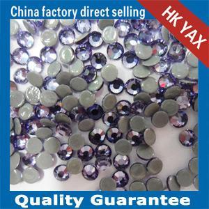 China SWAINSTONE ® tanzanite ss20 4.8-5.0mm drill hotfix rhinestone,drill rhinestone hotfix wedding dress accessories on sale