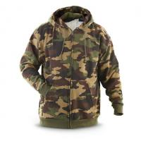 Quality Fleece Lined Camouflage Pullover Hoodie Mens Military Hoodies Anti Wrinkle for sale