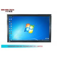 Public Wall Mounting Interactive Touch Screen LCD Monitor With Remote Control
