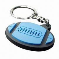 Quality Couple Keychain Made of Silicone or Soft PVC for Promotion, Custom Designs, Sizes, Colors Welcomed for sale
