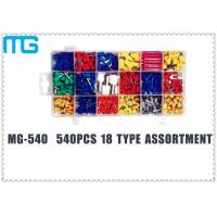 Quality TE E Colorful Terminal Assortment Kit MG-540 540 pcs Customized 18 Types for sale