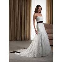 Quality NEW!!! Strapless Aline Zip back wedding dress Lace Bridal gown #dq5050 for sale
