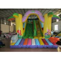 Quality Commercial Inflatable standard simple dry slide PVC hot sale single inflatable dry slide for children for sale