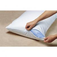Quality 100% white cotton hotel pillow for sale