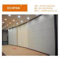China Custom Fiberglass Fabric Wrapped Decorative Soundproofing Wall Panels For Music Room on sale