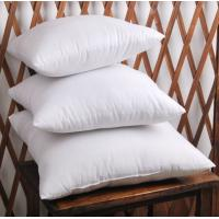 China Grey Duck Feather Cotton Cushion Inserts White Knife Edge OEM on sale